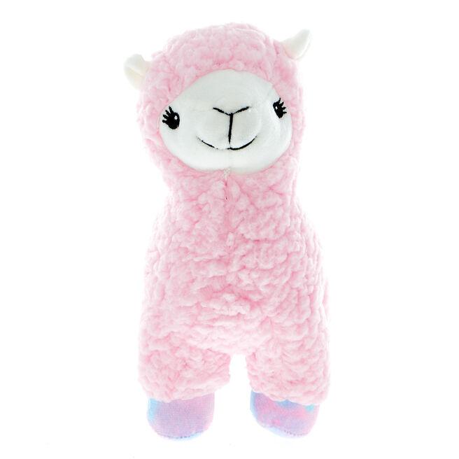 Pink Pastel Llama Soft Toy