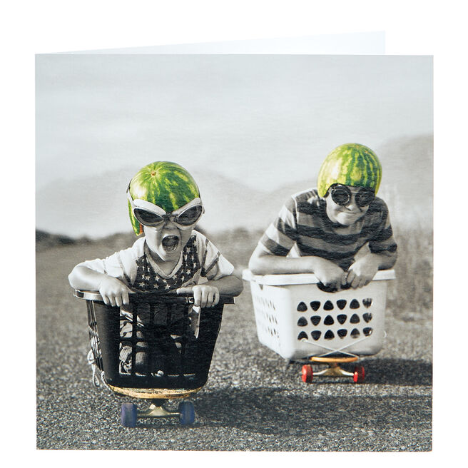 Any Occasion Card - Watermelon Racers