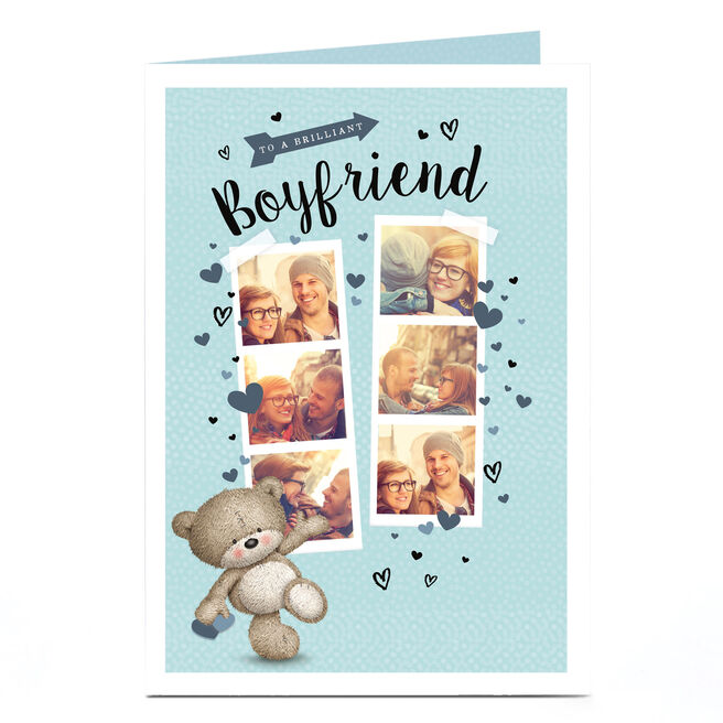 Hugs Bear Photo Card - Brilliant Boyfriend