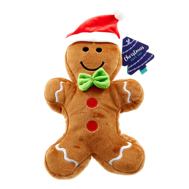 Ginger Bread Man Christmas Soft Toy