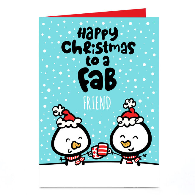 Personalised Fruitloops Christmas Card - To A Fab...
