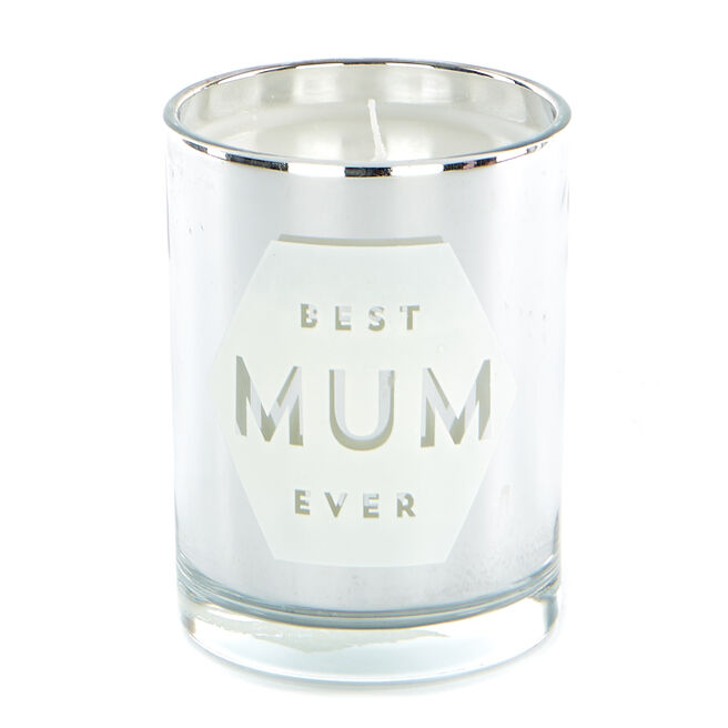 Best Mum Ever Vanilla Scented Candle