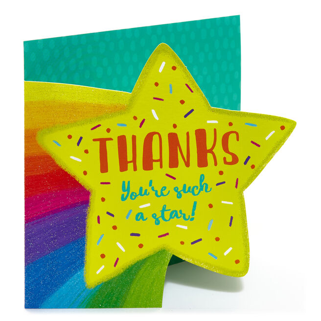 Thank You Card - Such A Star