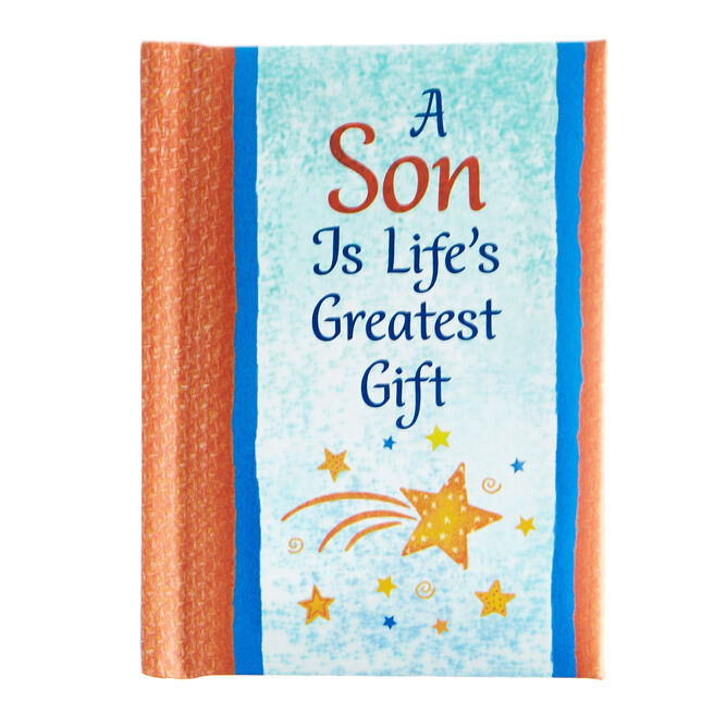 Blue Mountain Arts Keepsake Book - A Son Is Life's Greatest Gift