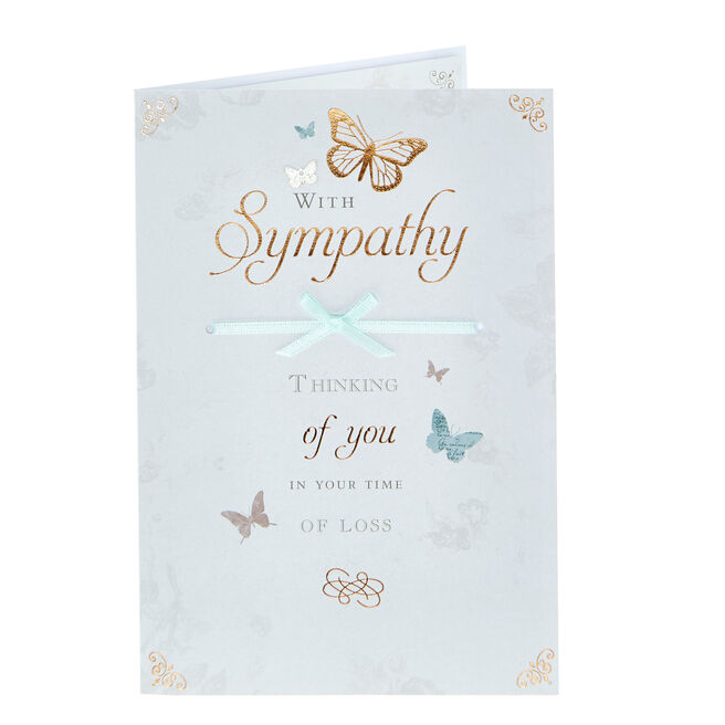 Sympathy Card - In Your Time Of Loss