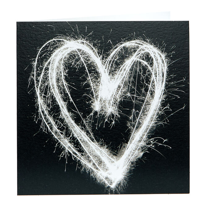 Any Occasion Card - Sparkler Heart