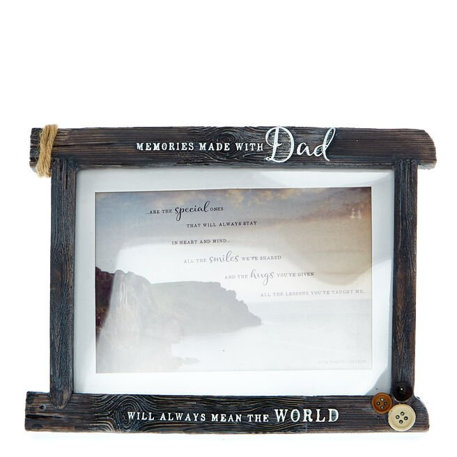 Memories Made With Dad Photo Frame