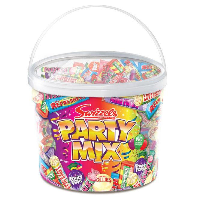 Swizzels Party Mix 840g Tub