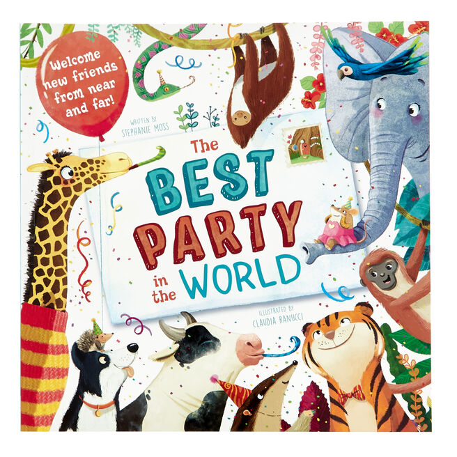 The Best Party in the World Book