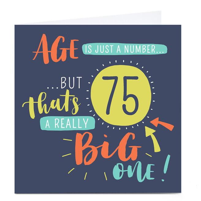 Personalised Nikki Whiston Birthday Card - Any Age