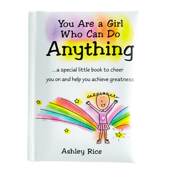 Blue Mountain Arts Keepsake Book - A Girl Who Can Do Anything