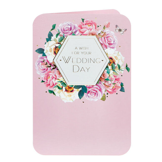 Wedding Card - A wish For Your Wedding Day