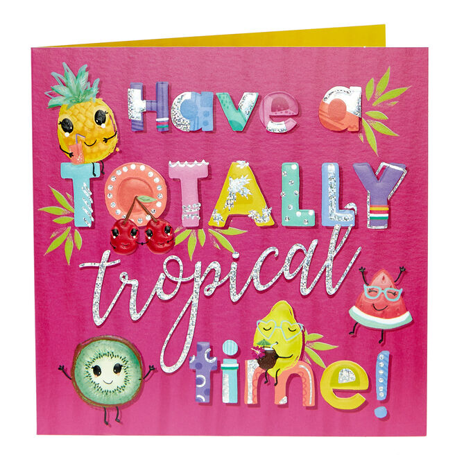 Any Occasion Card - Totally Tropical Time
