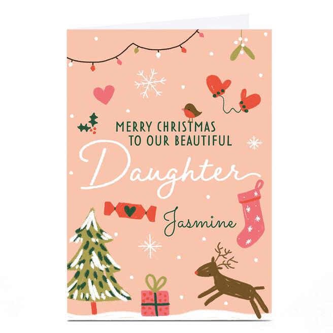 Personalised Juniper & Rose Studio Card - Daughter