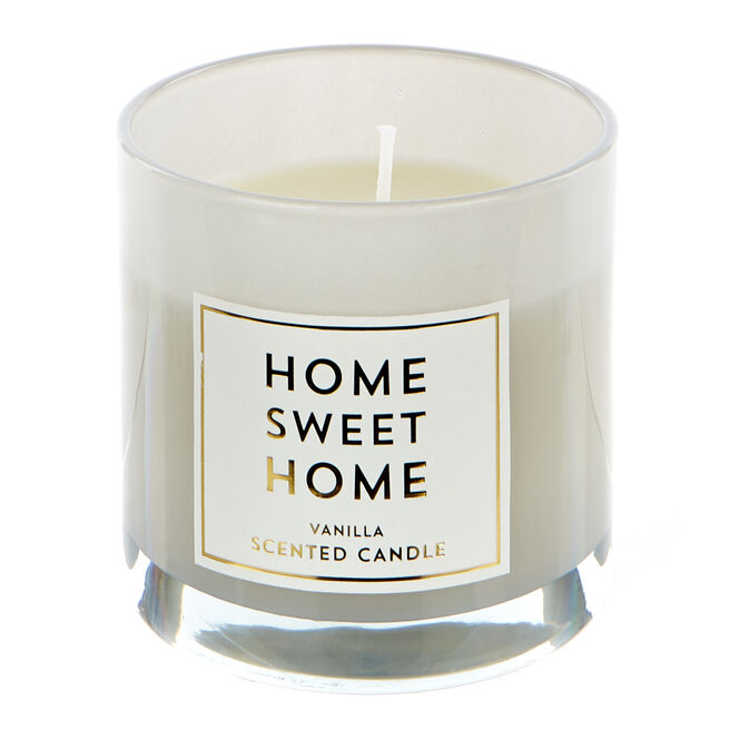 Home Sweet Home Vanilla Scented Celebration Candle