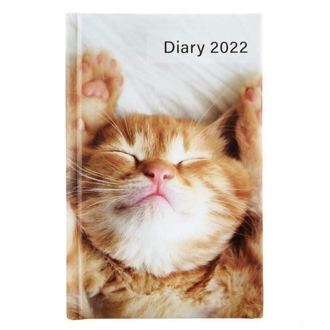 A6 2022 Pocket Diary - Cat