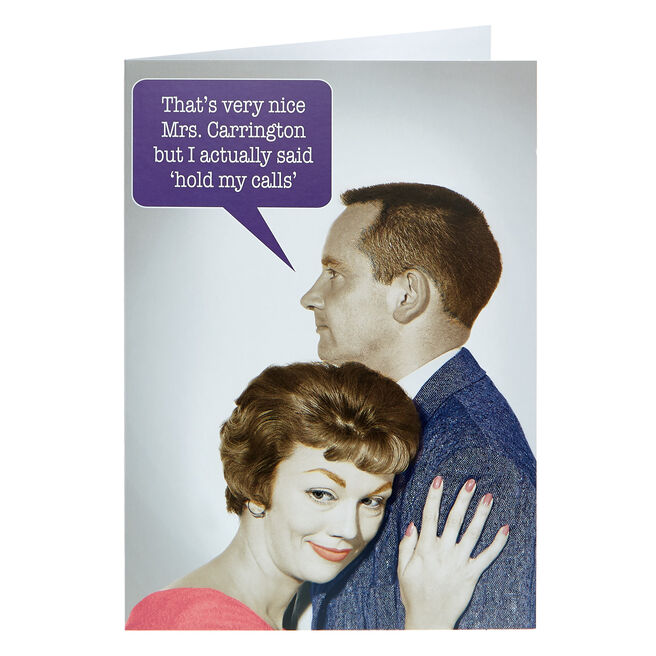 Any Occasion Card - Hold My Calls