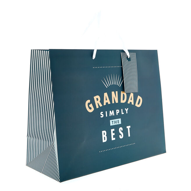 Medium Landscape Gift Bag - Grandad