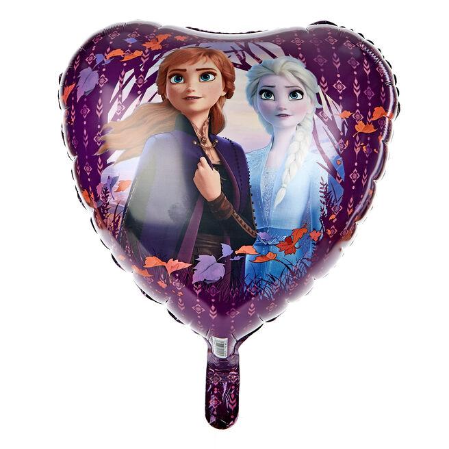 Frozen II 17-Inch Heart Shaped Foil Helium Balloon