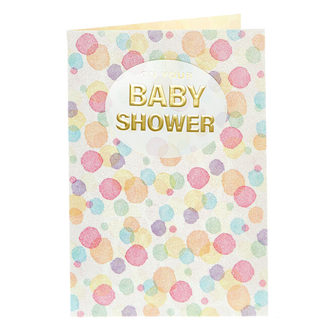Baby Shower Card - For You & The Bump