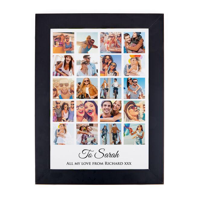 Photo Upload 20 Photo & Message Print