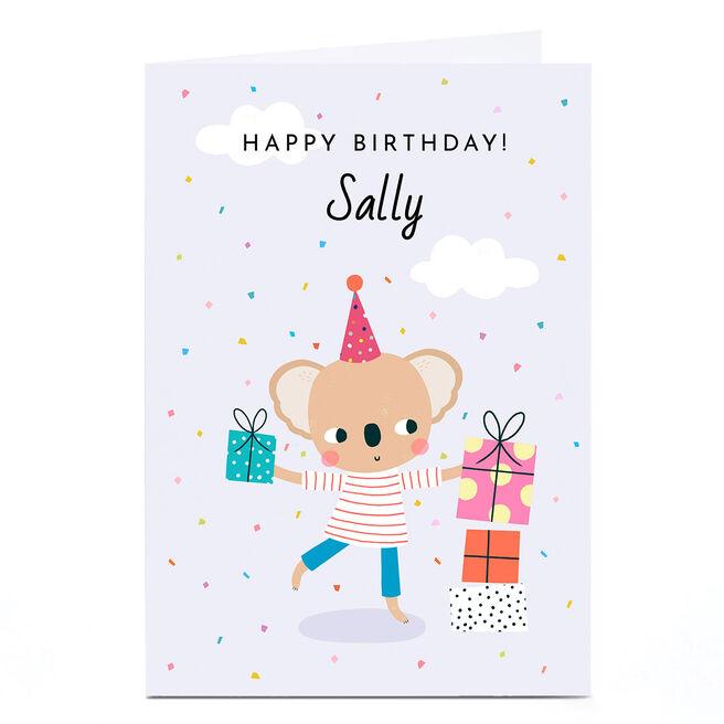 Personalised Lemon & Sugar Card - Happy Birthday