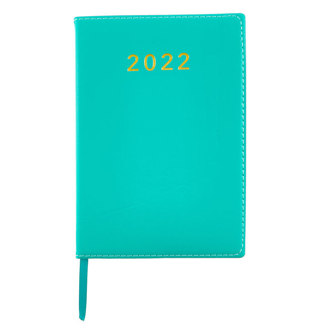 Teal Page-A-Day 2022 Pocket Diary