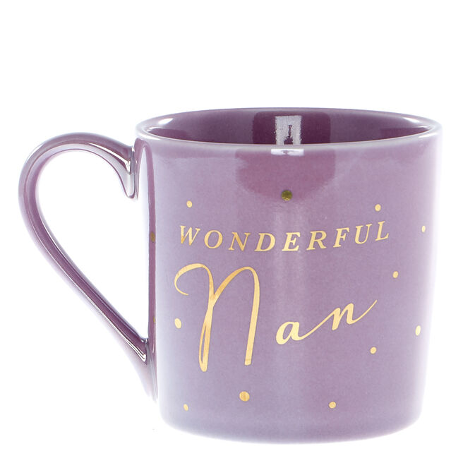 Wonderful Nan Mug In A Box