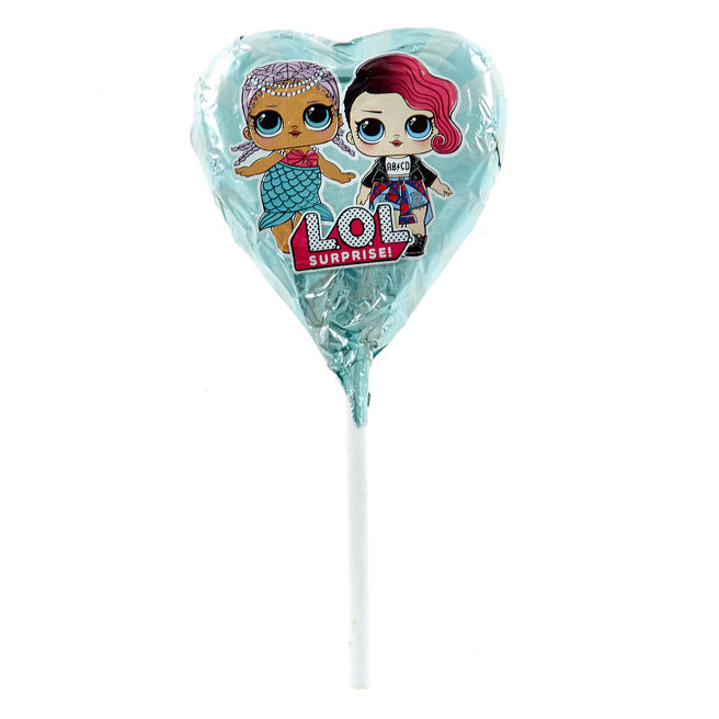L.O.L Suprise! Milk Chocolate Lollipop