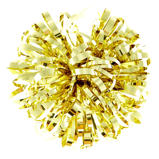 Luxury Gold Gift Bow