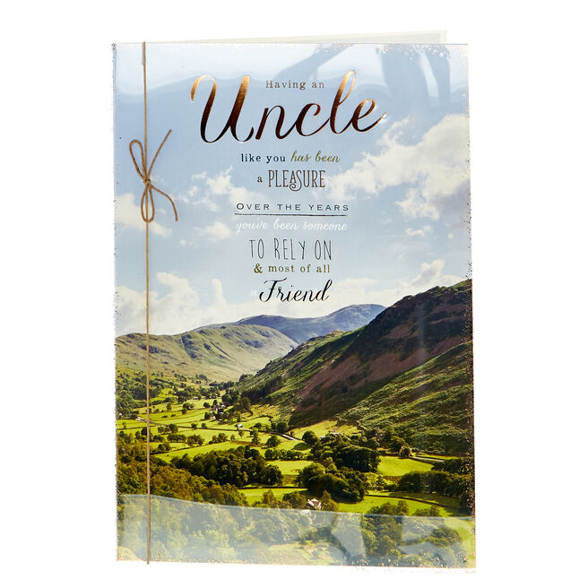Birthday Card - Having An Uncle Like You