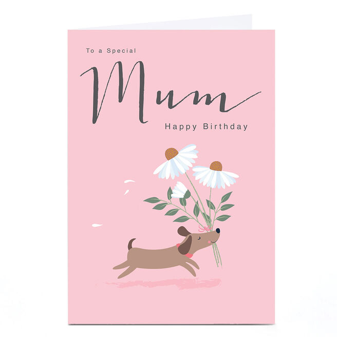 Personalised Klara Hawkins Card - Mum Dog