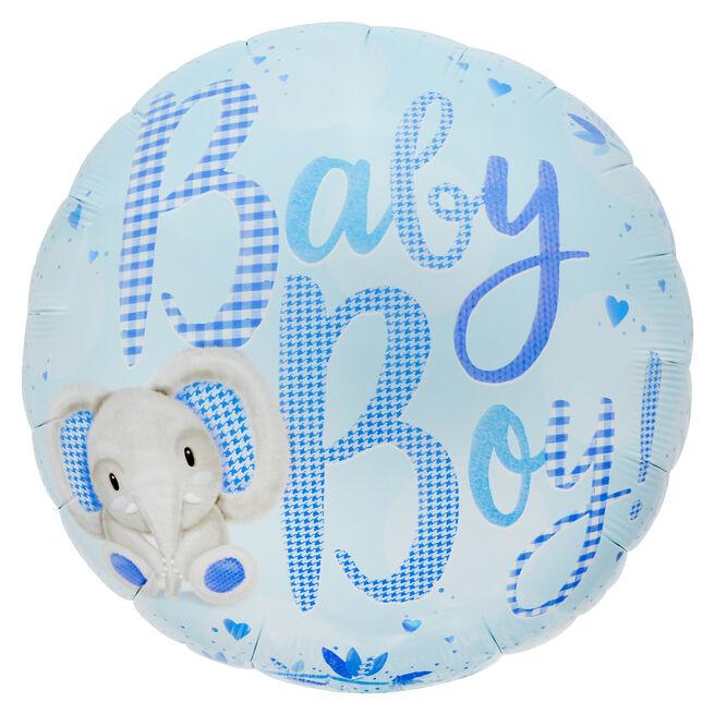 Baby Boy 31-Inch Foil Helium Balloon