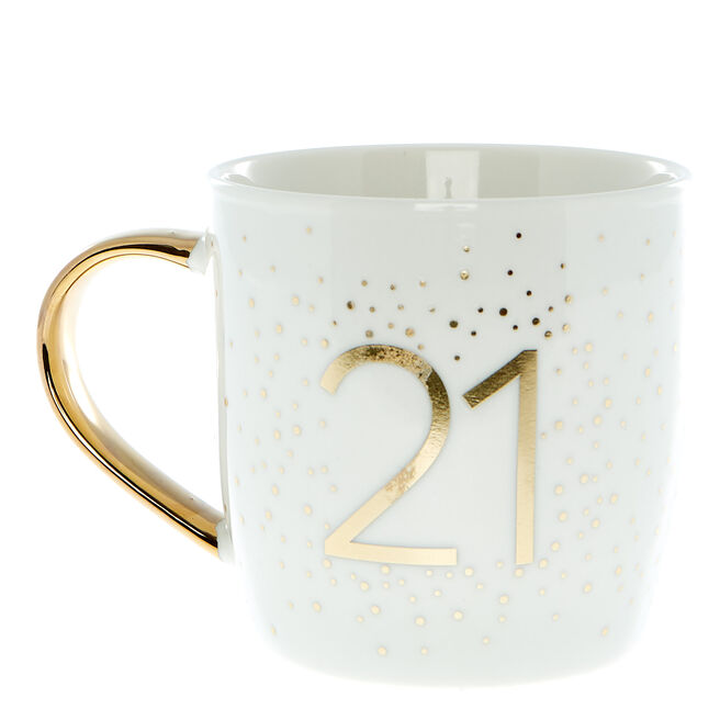 21st Birthday Mug In A Box - Happy Birthday To You