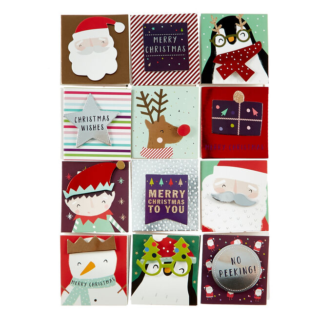 Handcrafted Children's Christmas Gift Tags - Pack of 24