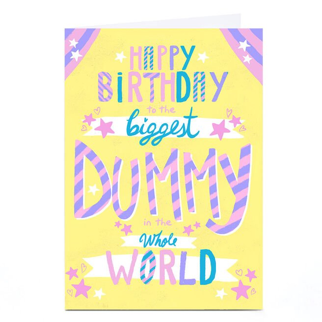 Personalised Raluca Farcas Birthday Card - Dummy