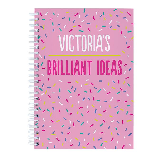 Personalised Brilliant Ideas Notebook