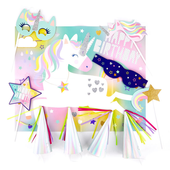 Unicorn Party Accessory Pack For 16