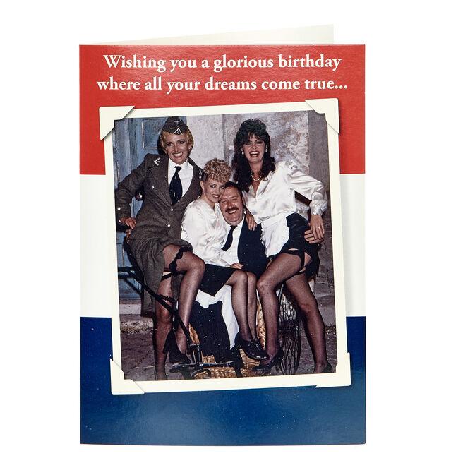 Allo 'Allo! Birthday Card - Dreams Come True