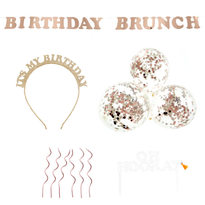 Birthday Brunch Party Accessories Bundle - 20 Pieces
