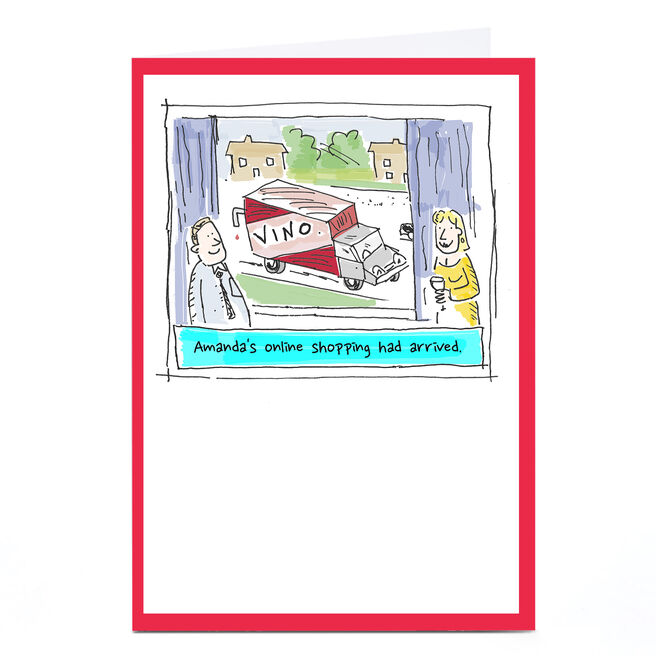 Personalised Vicar Of Scribbly Card - Online Shopping