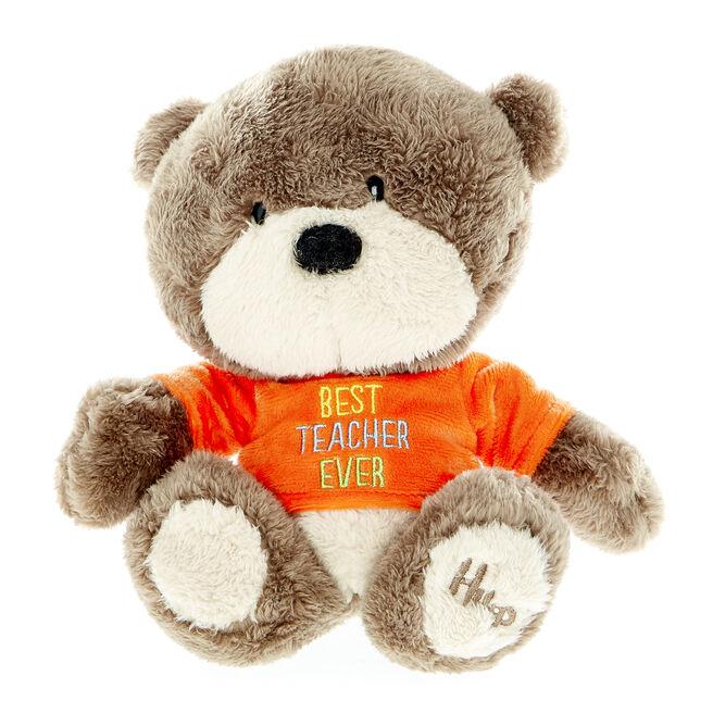 Hugs Bear Best Teacher Ever Soft Toy