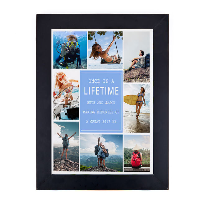 Photo Upload Print - Any Message, 8 Photos