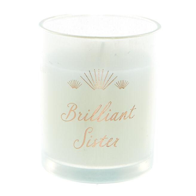Brilliant Sister Vanilla Scented Candle
