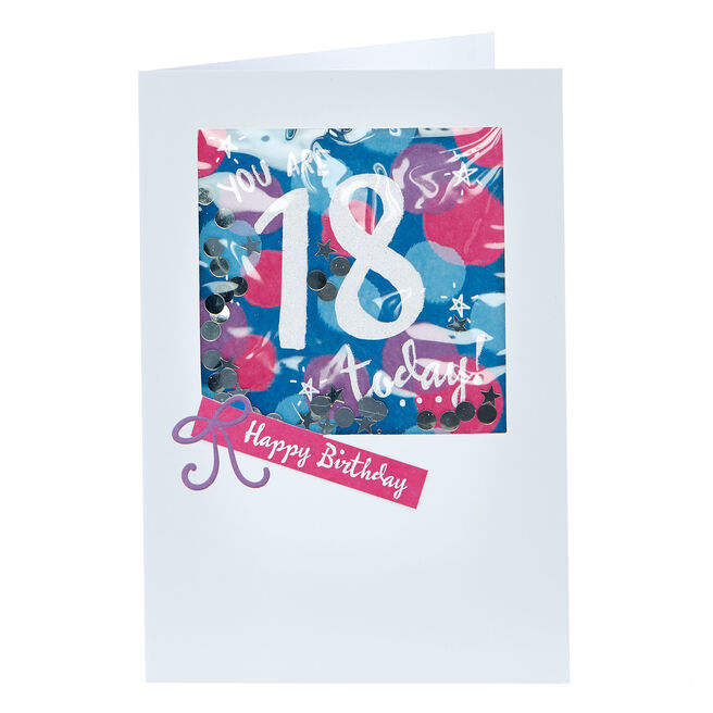 18th Birthday Card - You Are 18 Today