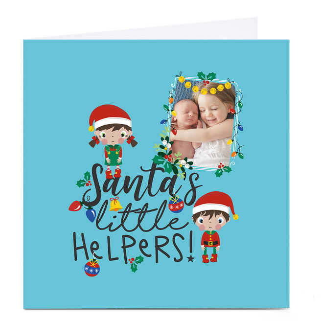 Personalised Rachel Griffin Christmas Card - Little Helpers