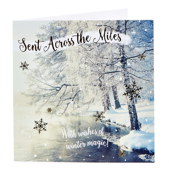 Christmas Card - Sent Across The Miles