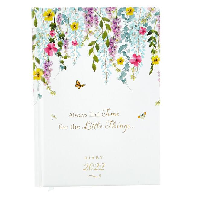A6 Secret Garden 2022 Pocket Diary