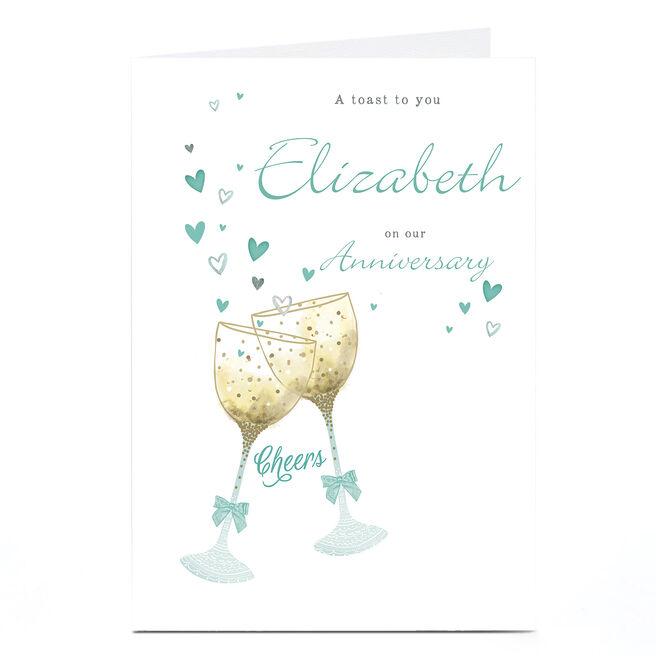 Personalised Card - Cheers