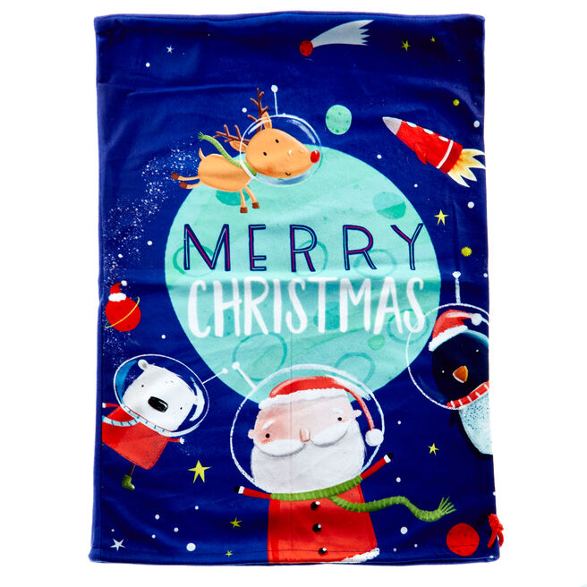 Space Fun Christmas Sack